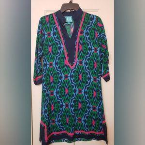 Escapada Multi Color Shift Dress XS